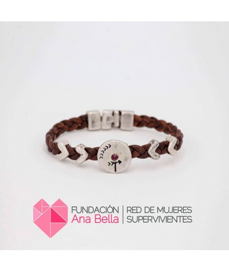 Pulsera Be Human Marrón