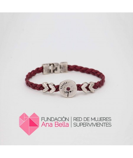 Pulsera Be Human Burdeos